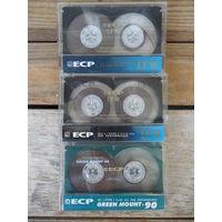 3 кассеты ECP б/у, с записями