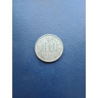 Германия 10 пфенингов 1922(цинк)15