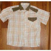 Рубашка с коротким рукавом р. 120