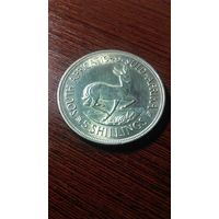 5 шиллингов 1949 года, ЮАР серебро