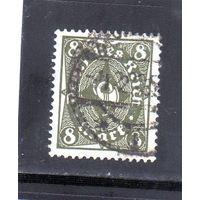 Немецкий рейх. Ми-229. Почтовый рожок.1922.