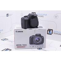 Зеркальная камера Canon EOS 700D Body (18Мп, сенсорный поворотный экран). Гарантия