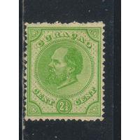NL Колонии Кюрасао (Нидерландские Антиллы) 1876 Вильгельм III Стандарт #7**