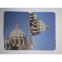 Лот из 2-х билетов на посещение купола собора Святого Петра в Ватикане