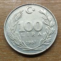 Турция 100 лир 1987 _РАСПРОДАЖА КОЛЛЕКЦИИ