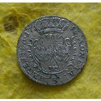6 грошей 1756 г Нечастая Отличная