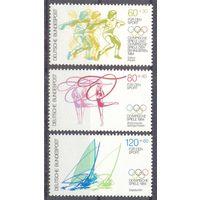 Германия 1984 спорт Олимпиада парус