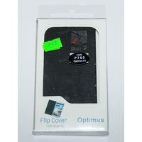 197 Чехол для LG Optimus L9 крышка, чёрный