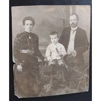 """Фото старой Польши до 1930 г., """"Семья"""""""