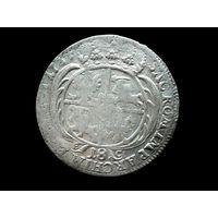 ОРТ 1754 ГОДА АВГУСТА III ОТЛИЧНЫЙ!!! ПОЧТА НЕ МНЕ.