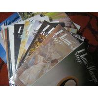 Журнал Наше наследие 1-5 1988 год нет 6 номера.