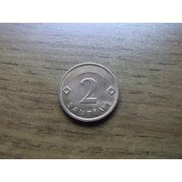 Латвия 2 сантима 2009