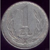1 Злоты 1975 год Польша