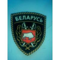 "Шеврон ""Беларусь"" с зубром"