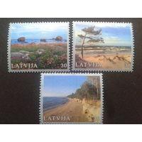 Латвия 2001 природа полная серия из блока