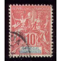 1 марка 1900 год Сенегал 22