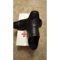 Туфли из натуральной кожи Rieker Antistress