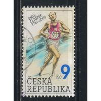 Чехия 2002 Эмиль Затонек - чемпион в марафоне ХV Олимпийских игр (Хельсинки) #331
