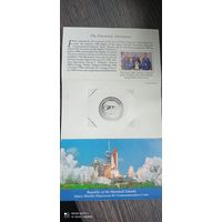 5 долларов Маршалловы острова Space Shuttle