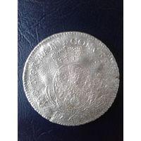 Пфальц-Сульбах ,гульден  1700тые серебро 13,9 грамма