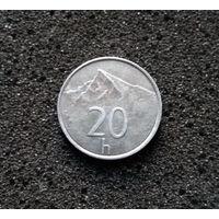 Словакия, 20 геллеров 1996
