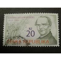 Чехия 2012 монах Мендель, открыл генетику