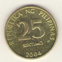 25 сентимо 2004 г.