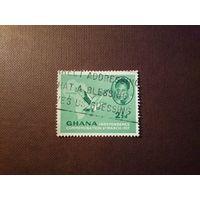 Гана 1957 г.Кваме Нкрума (1909-1972), премьер-министр.Независимость.