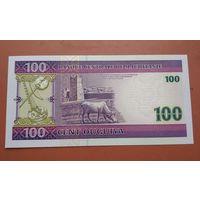 Банкнота 100 угия Мавритания 2004 г.
