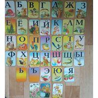 Карточки на магнитиках для обучения детей-очень красивые.