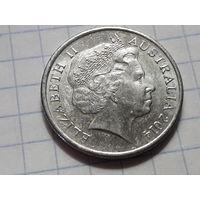 Австралия 10 центов 2014