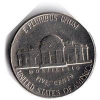 США. 5 центов. 1991 P