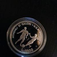 1000 лир 1994 Сан Марино Футбольный ЧМ