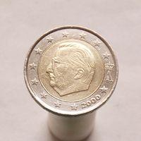 Бельгия 2 евро 2000 ( 1-й тип )