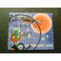 Финляндия 2000 день св. Валентина, пешком по планете Марс