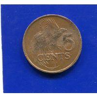 Тринидад и Тобаго 5 центов 1981