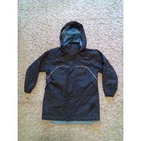 Куртка ветровка для мальчика рост 110-116