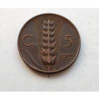 Италия 5 чентезимо, 1932 1-7-62