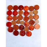 Монеты ЮАР с рубля.