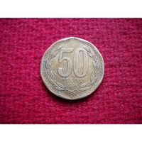 Чили 50 песо 2006 г.