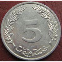 3558:  5 миллим 1996 Тунис