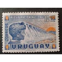Уругвай 1959 плотина ГЭС