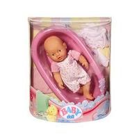Кукла Моя маленькая беби борн в ванночке,(Zapf Creation),оригинал