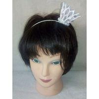 Обруч для волос корона канзаши 3