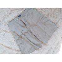Шорты импортные беж джинс для парня с капманами