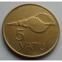 """Вануату 5 вату 1999 """"Харония - морская ракушка"""""""
