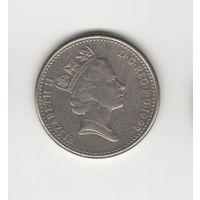 10 пенсов Великобритания 1992 Лот 3531