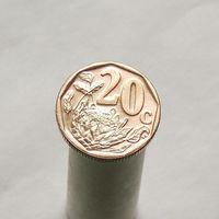 ЮАР 20 центов 2012