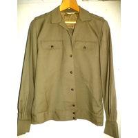 Куртка защитного цвета из СССР, новая