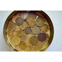 Лот 45 монет СССР до 1961 года
